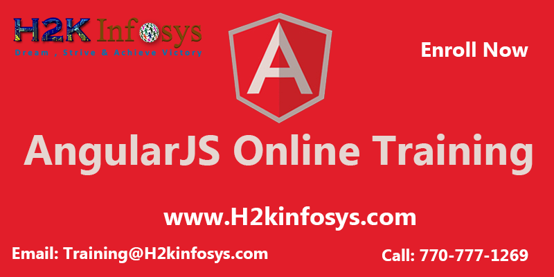 AngularJS Online Training Classes