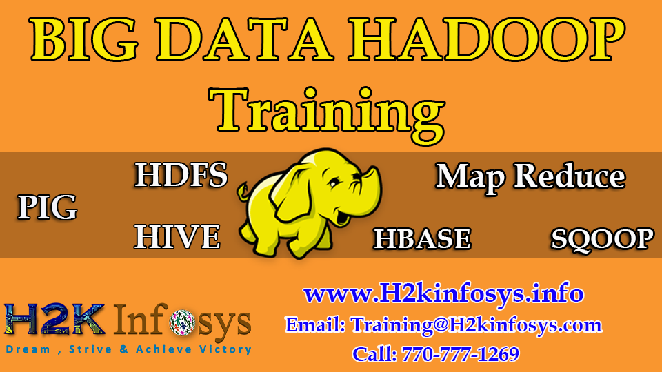 Big Data Hadoop Online Training