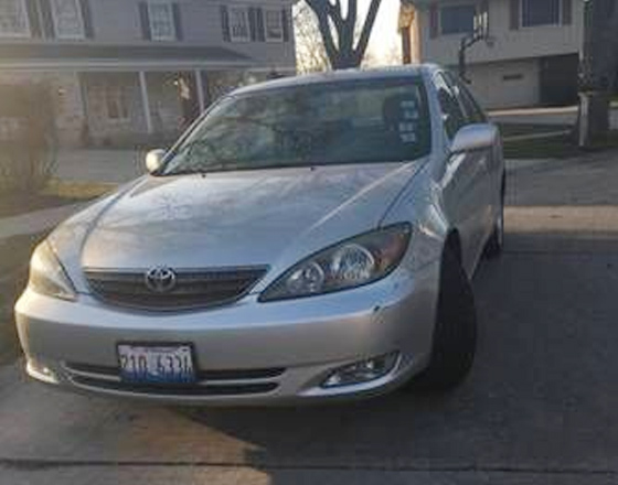 Toyota Camry SE 2002 Silver