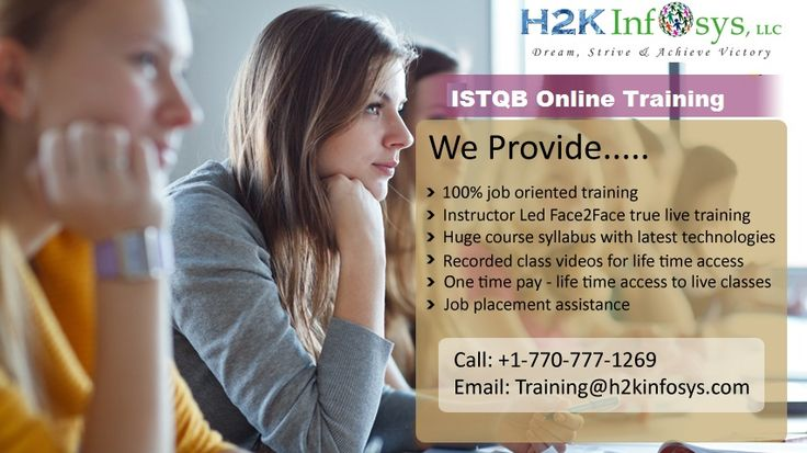 ISTQB Online Training And Job Assistance