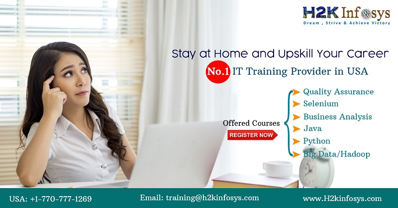 Stay at Home & Attend live Online IT Training...