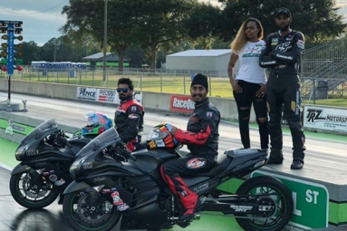 First Indian Bikers Attain New High at World Drag Racing Finals