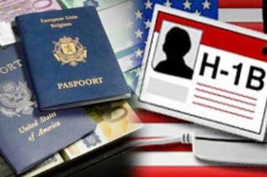 Huge drop in sanctions of H1B VISA to Indian IT Companies by 43% between 2015-17