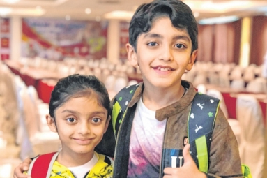 Indian Siblings Shine at Singapore National Open Age Championship