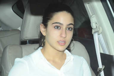 Sara Ali Khan all set for Debut