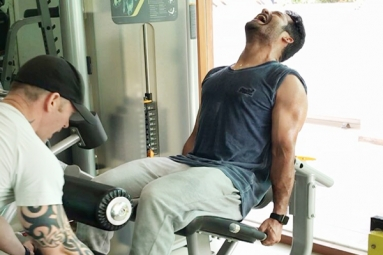 Latest Workout Picture of Tarak is Here