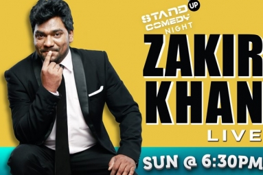 Zakir Khan Stand Up Comedy Live in Chicago