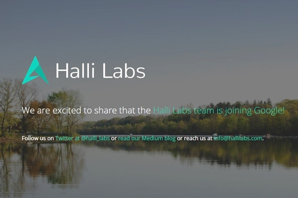 Google acquires AI start-up Halli Labs